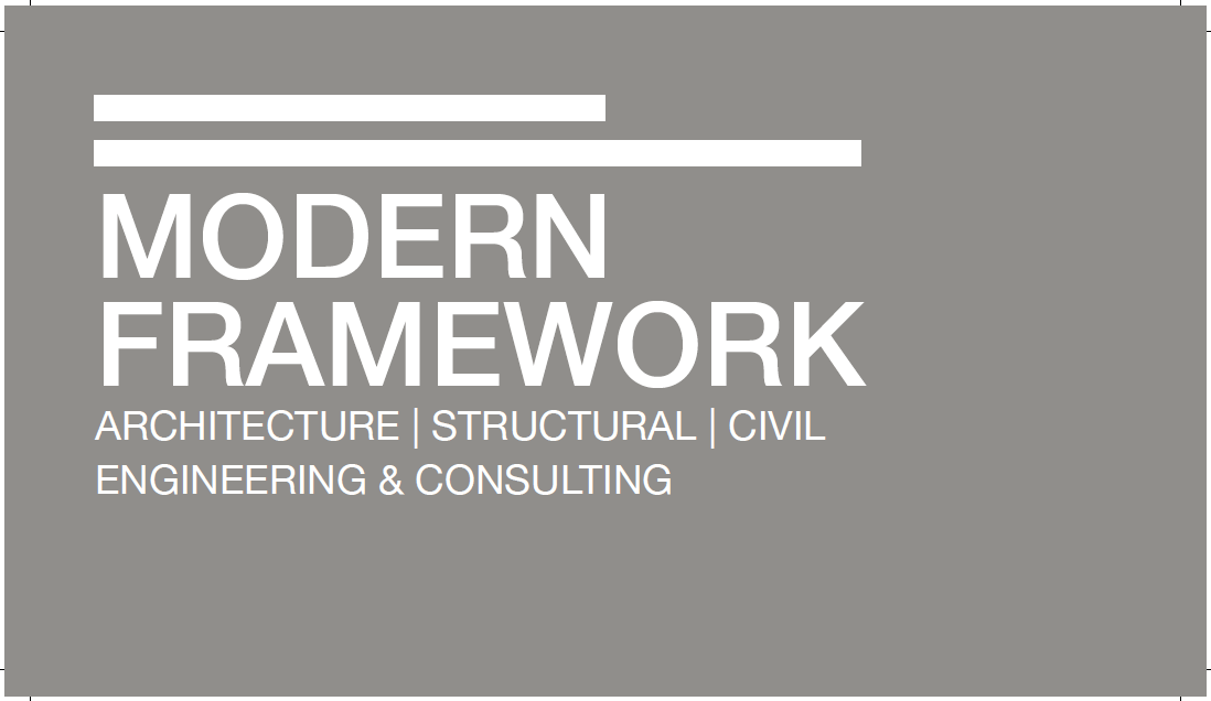 Modern framework architecture structural civil for Modern design consulting engineering office
